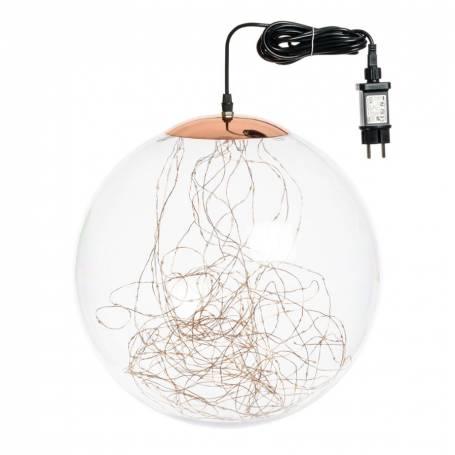 Suspension lumineuse LED boule 40CM 240 micro led intérieur professionnel