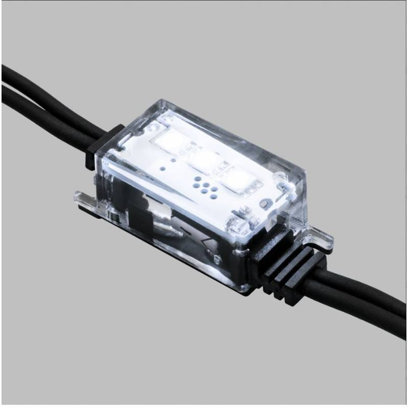 Guirlande stroboscopique flash 10 lampes blanc froid connectable professionnelle ILLUPRO 230V professionnel
