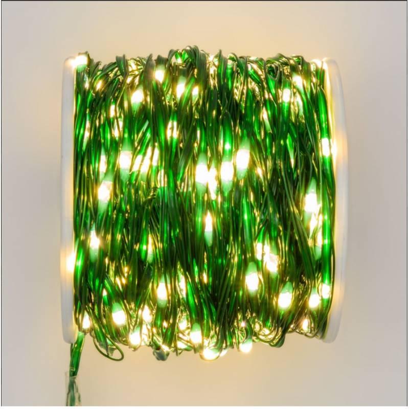 Guirlande lumineuse 500 Micro LED 25M professionnelle professionnel