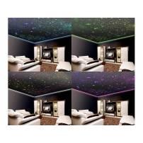 Ciel étoile led fibre optique 300 tiges