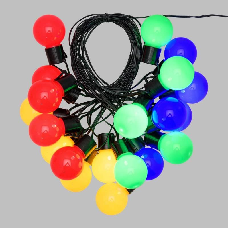 guirlande guinguette ampoule de couleur pas cher