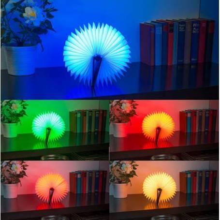Livre lumineux à piles 5 couleurs professionnel