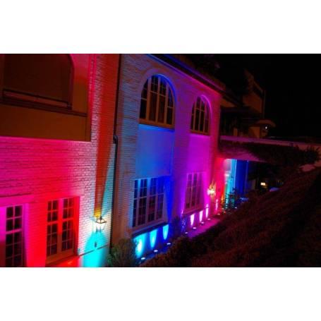 Projecteur RGB 100W LED extérieur professionnel télécommande professionnel