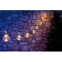 Guirlande led solaire ampoules 3 m80