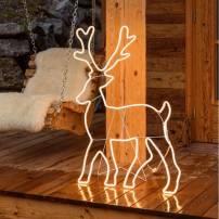 Renne lumineux 1.15M 840 LED blanc chaud tube néon professionnel