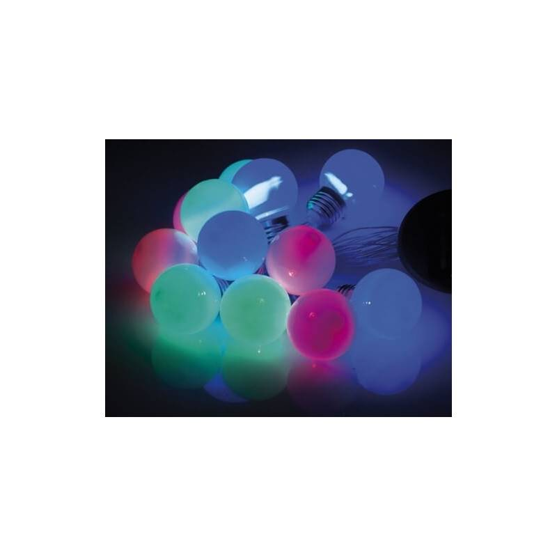 Guirlande led solaire multicolore 5 M