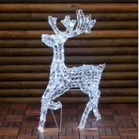 Renne lumineux élégant 85CM 200 LED blanc froid extérieur professionnel