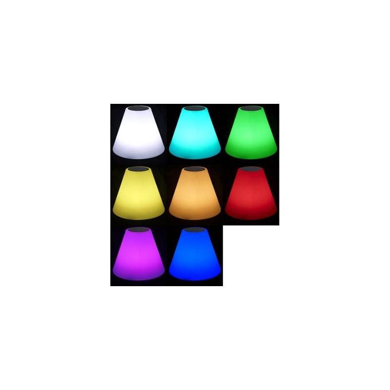 Lampe sur pied solaire hauts parleurs Bluetooth