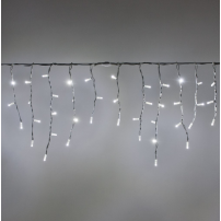 copy of Guirlande mini stalactite 10M H12CM 550 LED blanc froid cable transparent professionnel