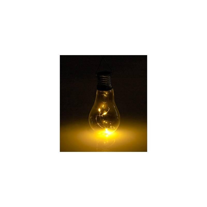 Ampoule solaire blanc chaud pack de 4