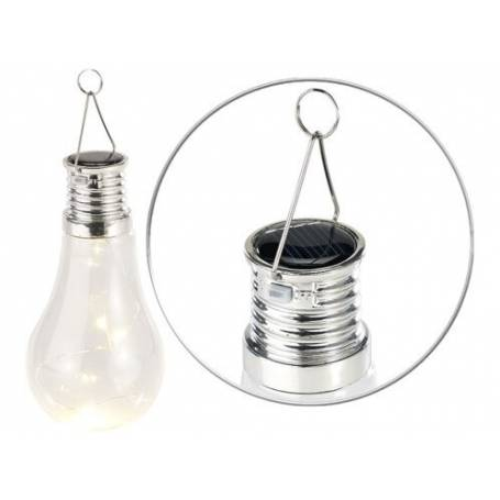 lot de 4 ampoules solaires led décorative
