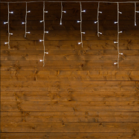 copy of Guirlande stalactite 20M H 60CM 480 LED blanc chaud 8 programmes câble blanc professionnel