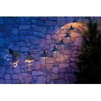Guirlande 10 lanternes retro solaires 1,6 M