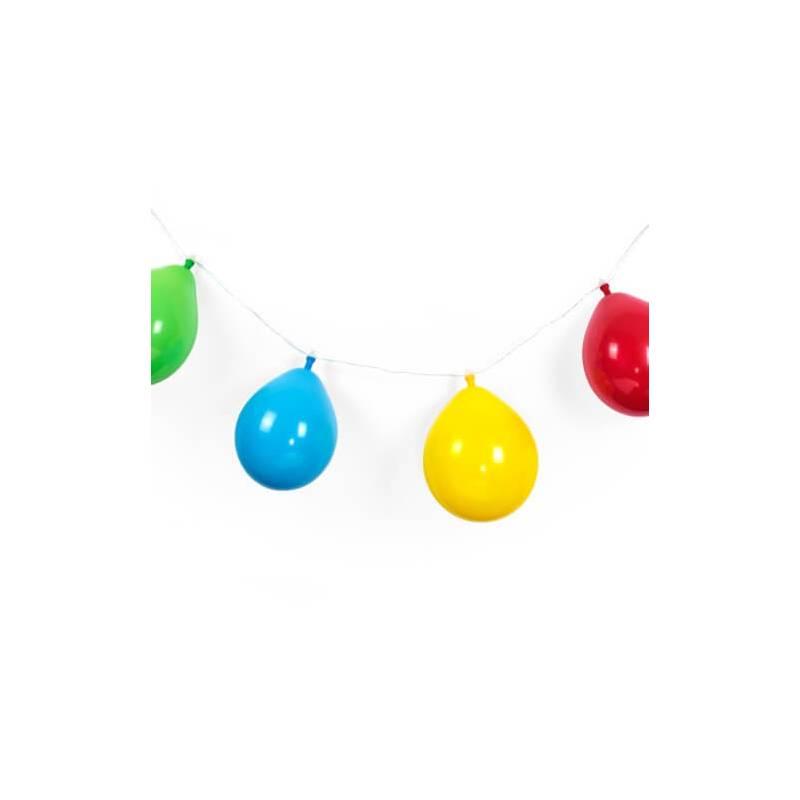 Guirlande led de 10 ballons de baudruches