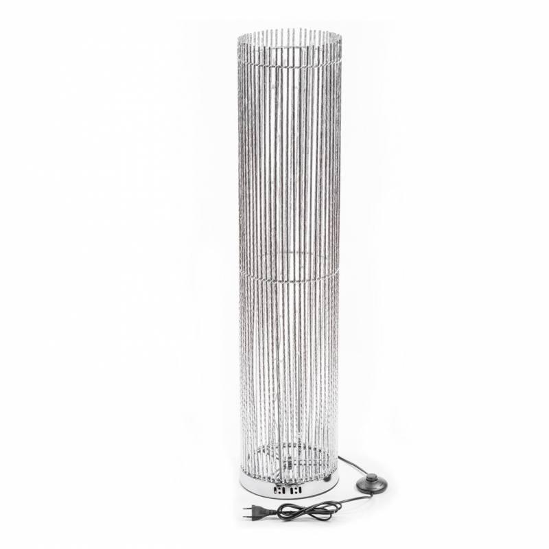 Colonne lumineuse 1M 60 LED blanc chaud tube alu professionnel