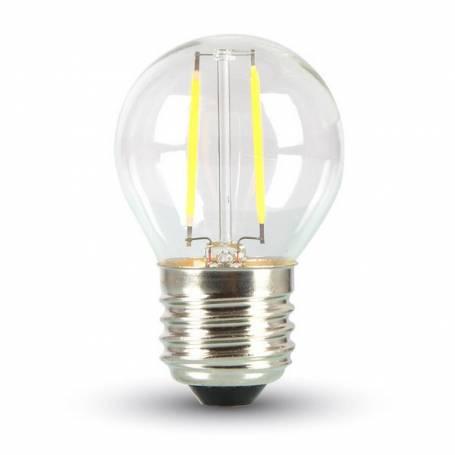 Ampoule led Filament Guinguette E27 2W blanc chaud 1800 Kelvin