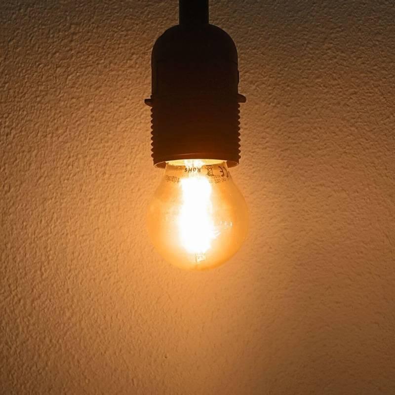 ampoule led filament g45 blanc chaud guinguette