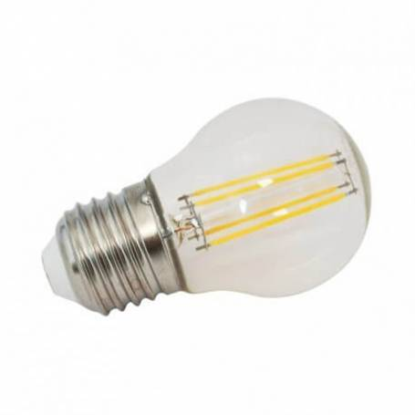 Ampoule LED filament dimmable Guinguette 4W E27 blanc chaud G45