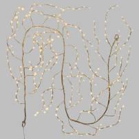 Branche lumineuse flash 3M 288 LED bland chaud argentée professionnel