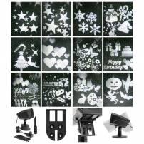 Projecteur de fête 12 images incluses avec laser vert professionnel