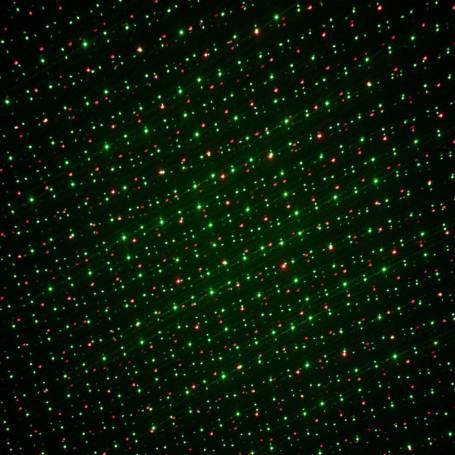 Projecteur laser noël point vert et rouge allumage automatique professionnel