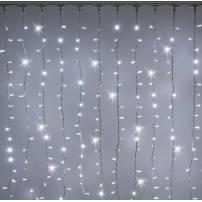 copy of Rideaux lumineux 7M de hauteur 750 LED Blanc froid prolongeable professionnel professionnel