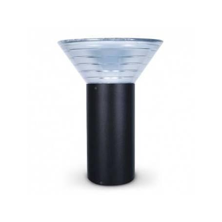 Potelet extérieur éclairage LED led solaire 4W IP65 4000K blanc neutre