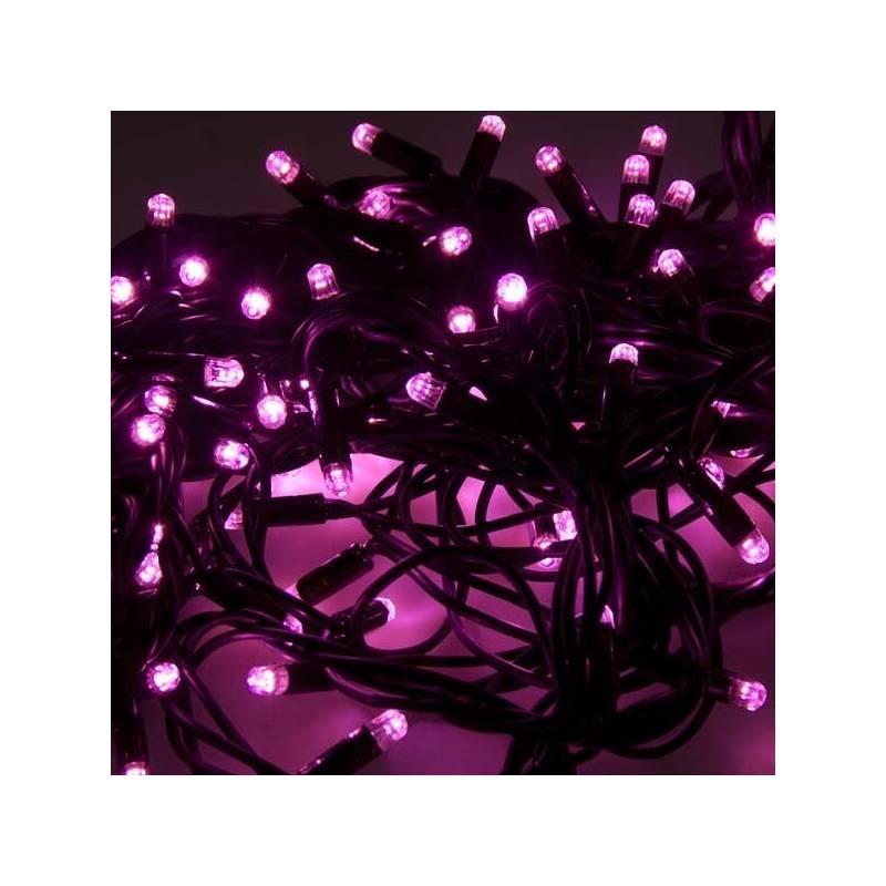 Guirlande lumineuse led Rose 8 mètres câble vert Professionnel