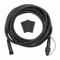 Câble de rallonge noir 5M pour guirlande guinguette IP44 professionnel