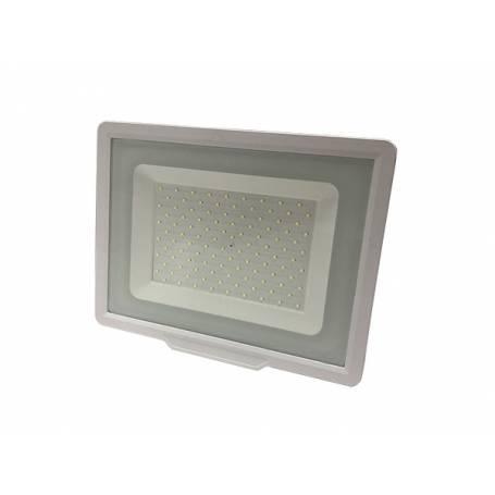 Projecteur led plat noir 100w blanc naturel professionnel professionnel