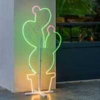 Lampe néon 12W figuier vert / blanc chaud / rose professionnel
