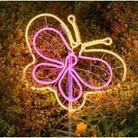 Lampe papillon blanc chaud rose professionnel