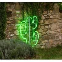 Lampe néon déco led vert professionnel