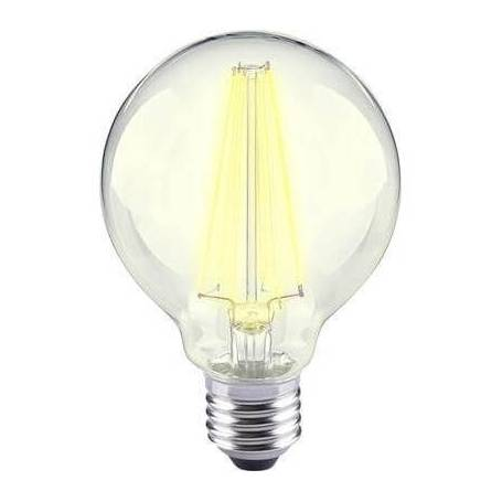 Ampoule led filament E27 12 w blanc chaud G80 dimmable