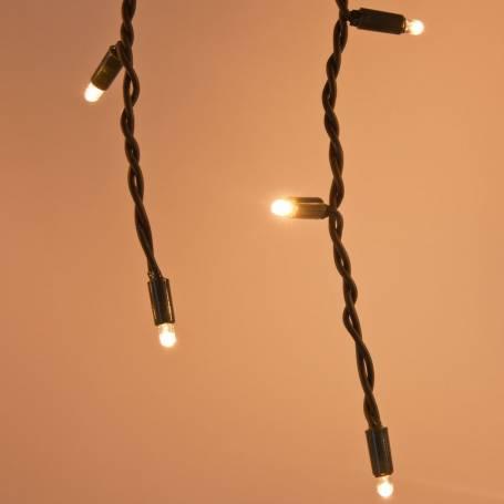 copy of Guirlande stalactite 3 mètres hauteur 90CM 228 LED blanc chaud prolongeable professionnel