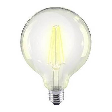 Ampoule led filament E27 G95 12 w blanc chaud dimmable clair