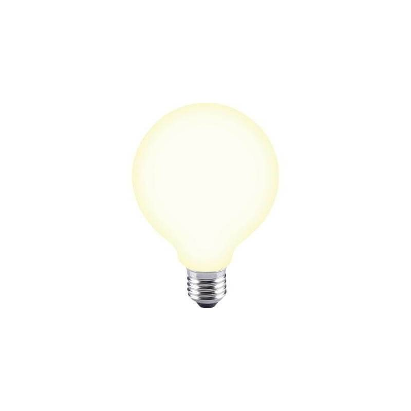 Ampoule led E27 G95 blanc chaud opaque blanc chaud 2700 Kelvin dimmable