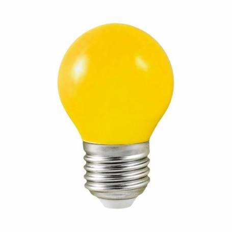Lot de 10 ampoules E27 Multicolores 1W LED Guinguette professionnelles professionnel