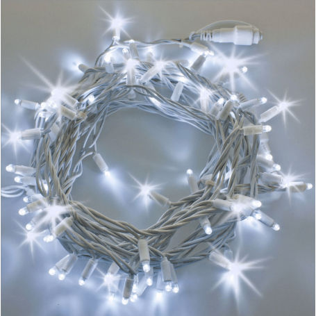Guirlande lumineuse LED flash 20M blanc froid raccordable professionnelle