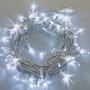 Guirlande lumineuse flash 20M 200 LED blanc froid raccordable professionnelle ILLUPRO 230V