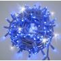 Guirlande lumineuse flash 10M 200 LED bleue et blanche raccordable professionnelle ILLUPRO 230V