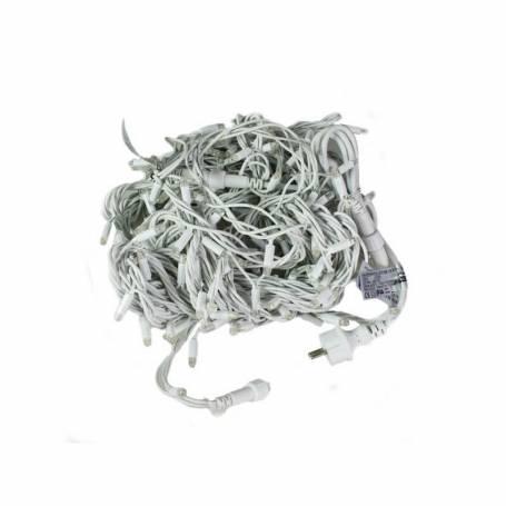 rideau lumineux câble blanc qualité professionnelle