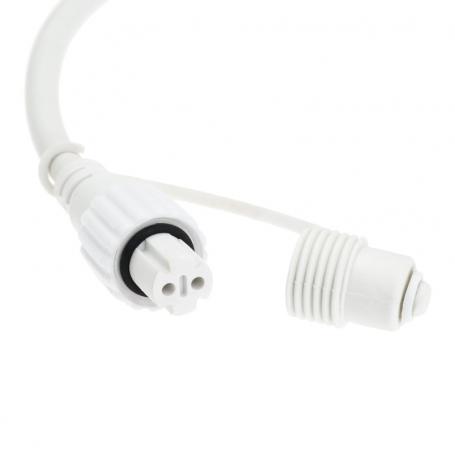 Guirlande lumineuse flash 10M 200 LED blanc froid raccordable ILLUPRO 230V professionnel