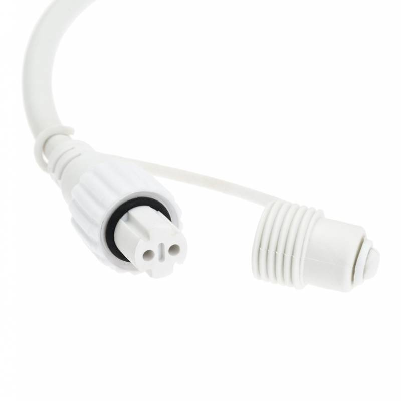 Guirlande lumineuse 10M 200 led blanc froid professionnelle raccordable professionnel
