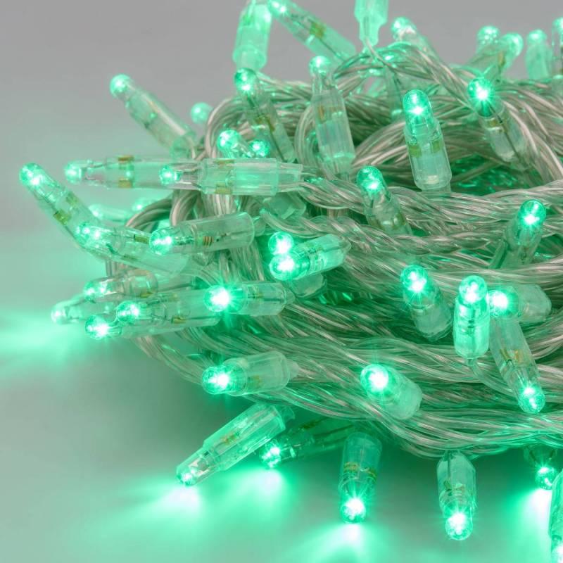 copy of Guirlande lumineuse 10M extensible 96 LED rouge 8 programmes cable transparent 24V professionnel