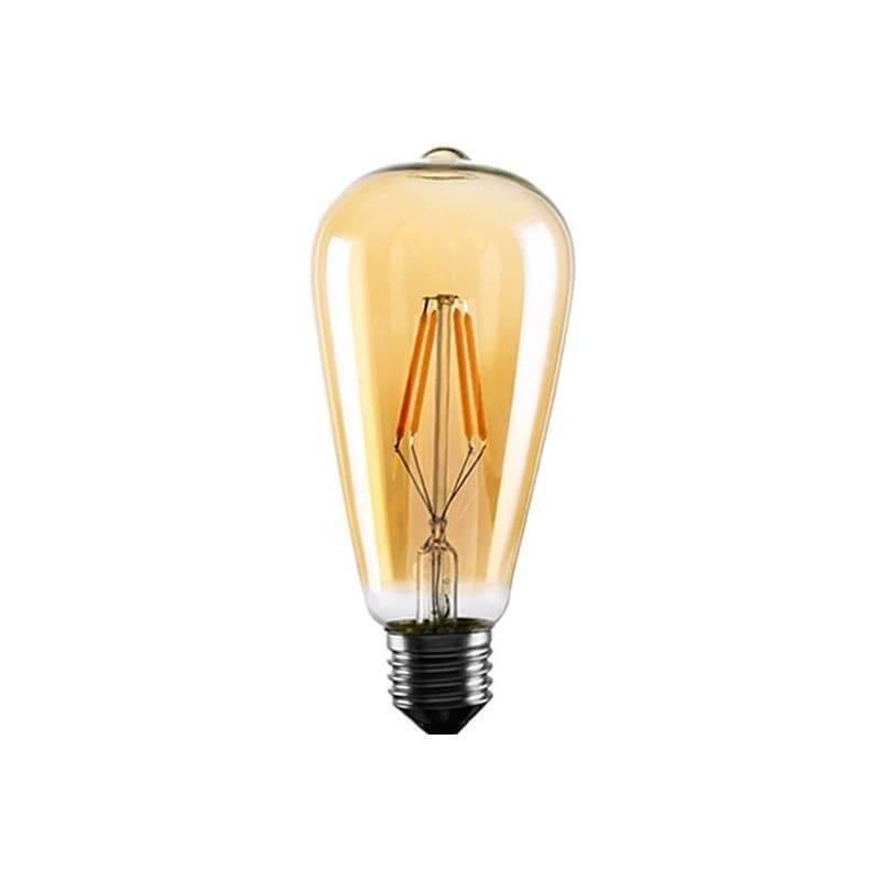 Guirlande ampoule vintage ST64 10M connectable extérieure câble noir