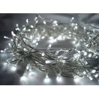 Guirlande lumineuse led Blanc froid 8 mètres câble transparent