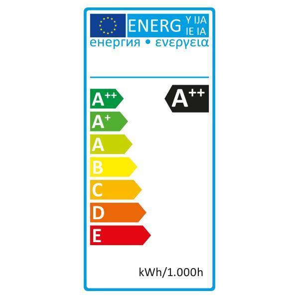Ampoule led plastique Filament 1W E27 blanc chaud Guinguette incassable