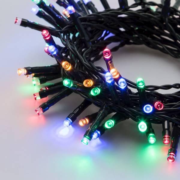 Guirlande lumineuse 10M 240 LED multicolore à piles intérieur extérieur