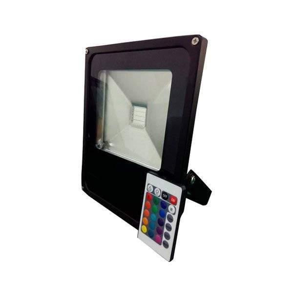 Projecteur 30W RGB multicolore LED télécommande professionnelle